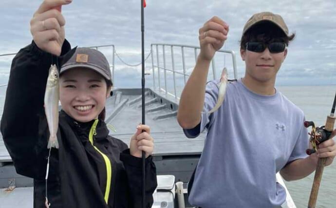 船キス釣りで60匹と入れ食い堪能 高活性時は「手返し」が重要