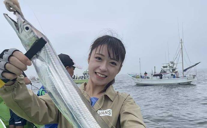 今週の『船釣り情報』特選釣果:タチウオ人気は全国区? ドラゴンも続々