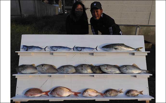 今週の『船釣り情報』特選釣果:全国で釣り方様々に秋マダイ顔出し中