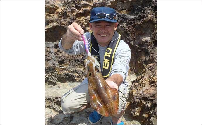 秋のアオリイカシーズン開幕 陸っぱりエギングタックル&釣行装備