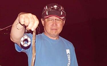 シーズン終盤のウナギ釣りで本命2匹 活性落ちるもまだチャンスあり?