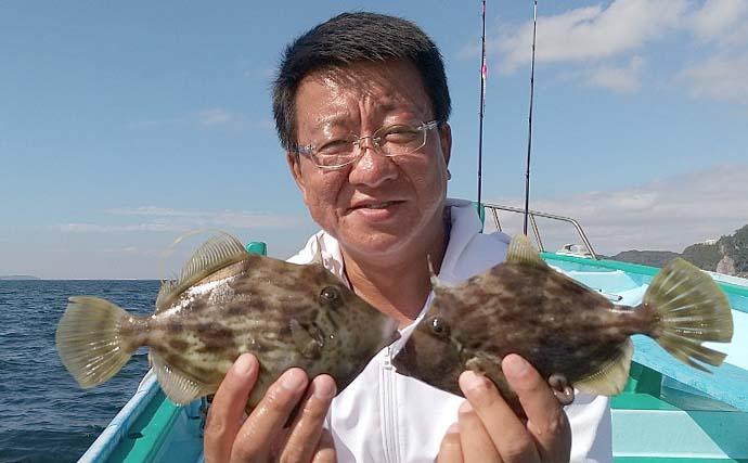 船カワハギシーズン開幕 関東各地の概況とキホンの釣り方をおさらい
