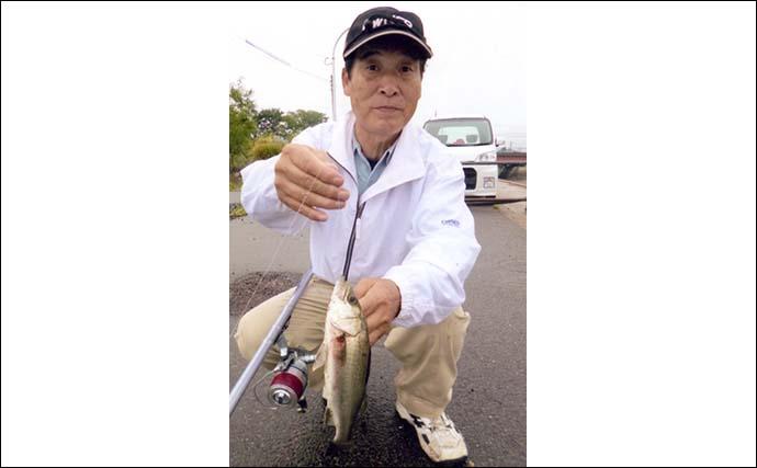 投げハゼ釣りで連掛け頻発「数釣り」堪能 好ゲストに21cmキス登場
