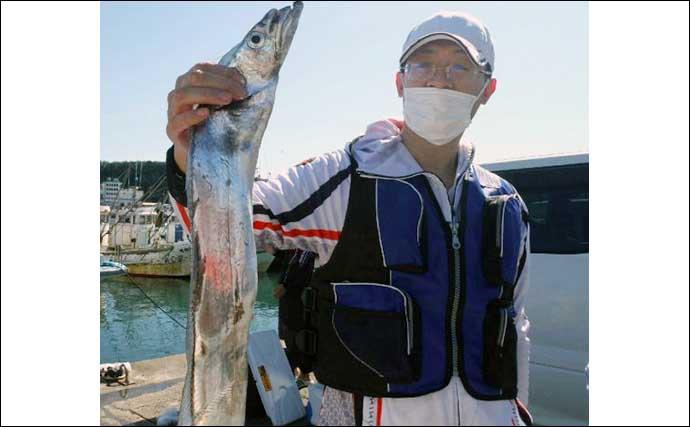 【愛知・三重】沖釣り最新釣果 タチウオ好調で良型混じり100匹超えも