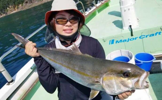 【愛知・三重】沖のルアー最新釣果 ジギング&タイラバで青物絶好調