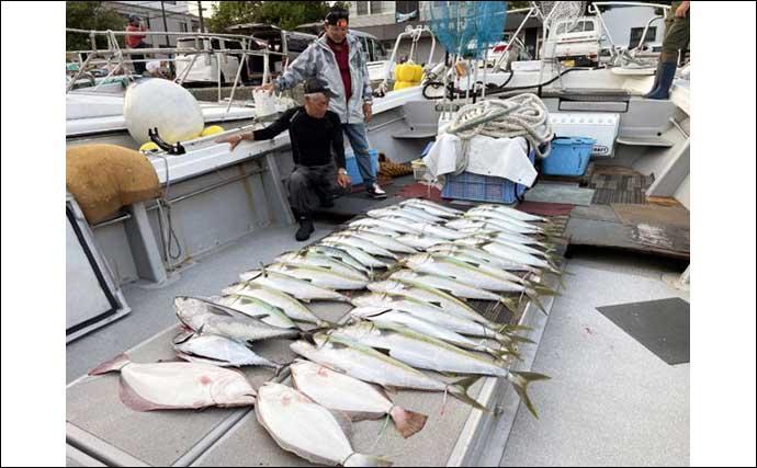【玄界灘】落とし込み最新釣果 ヒラマサ絶賛成長中でメーター級も浮上