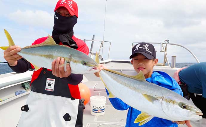 【響灘】落とし込み最新釣果 青物にマダイにヒラメに根魚と多彩にヒット
