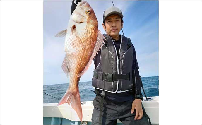 【福岡】オフショアルアーの最新釣果 ナブラ撃ちでマグロ混りカツオ多数