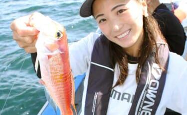 相模湾でシーズン序盤のアマダイ釣り満喫 船中50cmの大型も登場