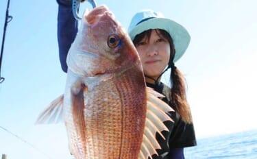 【福岡】オフショアルアー最新釣果 タイラバ&SLJでマダイ船中132匹