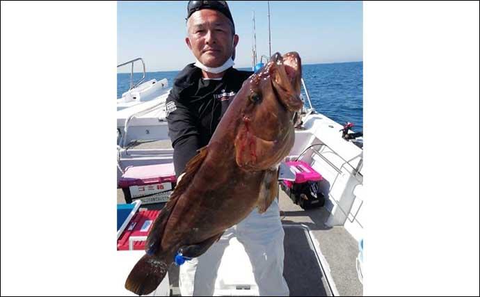 今週の『船釣り情報』特選釣果:美味しい「高級根魚」が各地で狙い目