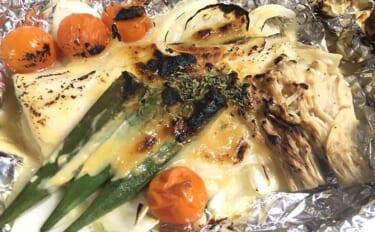 釣り人的「栄養バランス食」:シーバスの白味噌ホイル焼き定食
