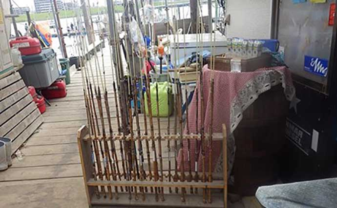 ボートハゼ釣りで65匹 初心者家族アテンド成功で釣り人口増加に貢献?