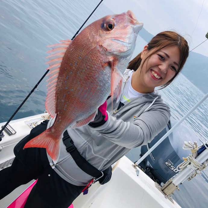 釣り男子からの好感度もアップ? 女性が女性に教える『タイラバ』基本