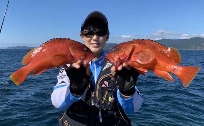 磯釣りを自由自在に楽しもう 釣り方こだらずアカハタにイサキに青物も