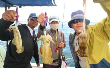今週の『船釣り情報』特選釣果:アオリだけじゃない秋イカ釣りを楽しもう